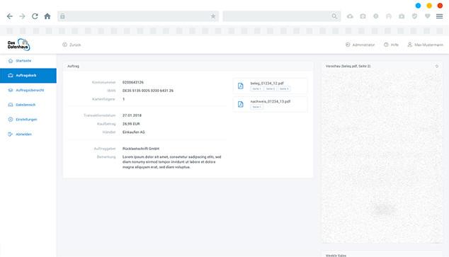 BANK-CONNECT für Händler – Das Datenhaus